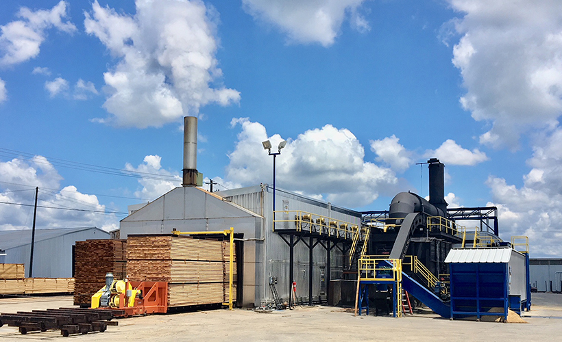 Photo of Langdale Forest Products' Kiln